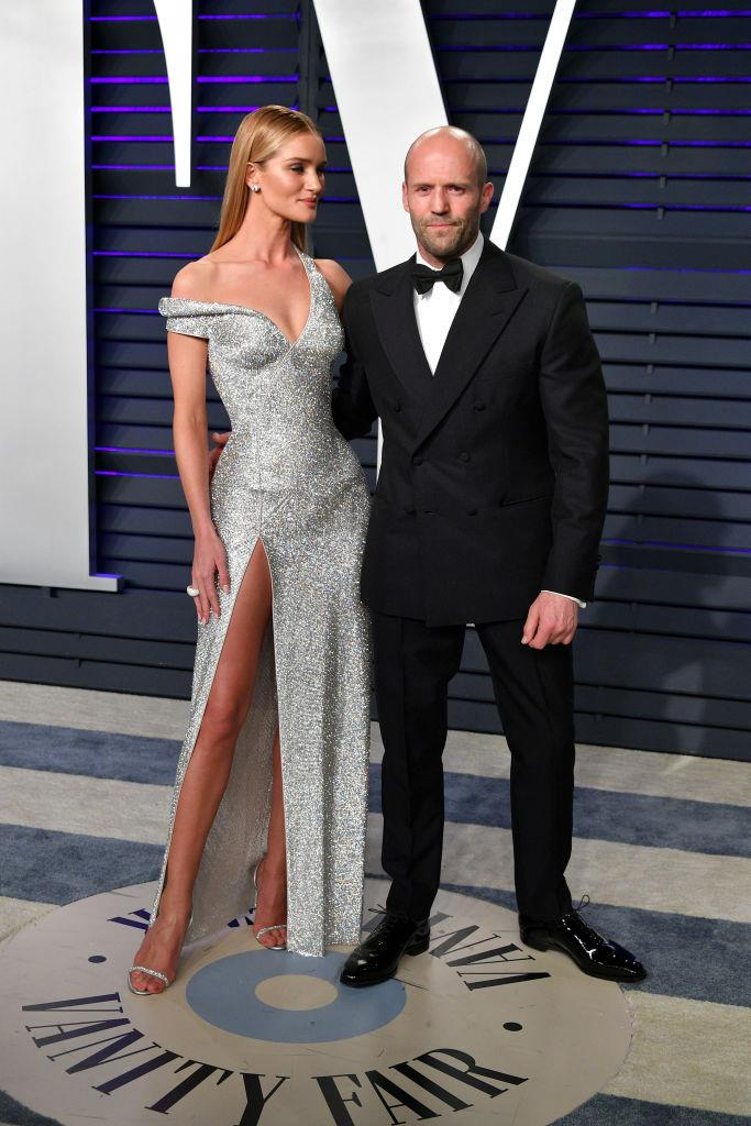 """**Rosie Huntington-Whiteley and Jason Statham** <br><br> Since they first began dating in 2010, *BAZAAR* cover star [Rosie Huntington-Whiteley](https://www.harpersbazaar.com.au/fashion/rosie-huntington-whiteley-cartier-video-cover-19879