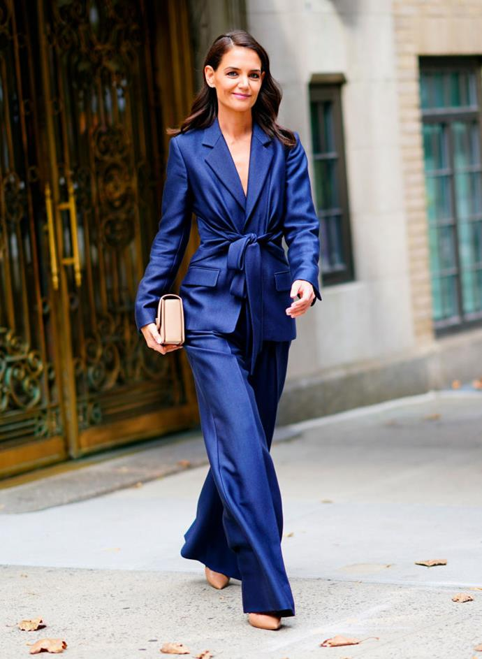 """***Do you have to wear a dress? How do you coordinate separates?***<br><br>  """"If you like to go against the grain, whatever you do, whether it be a suit or separates, stick to length,"""" Nina advised.<br><br>  """"Play with more masculine silhouettes, but please ensure you have a long cut to the floor."""""""