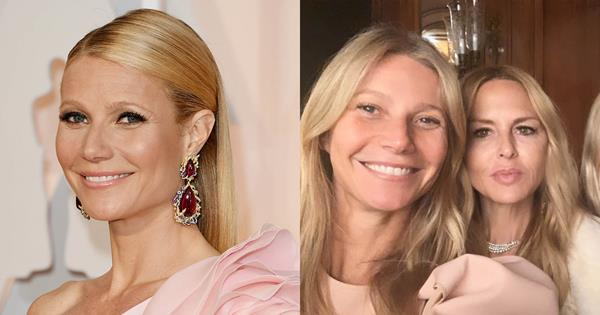 Gwyneth Paltrow Hosted A Dinner In L.A. And Asked All Her Celebrity Friends To Come Makeup-Free