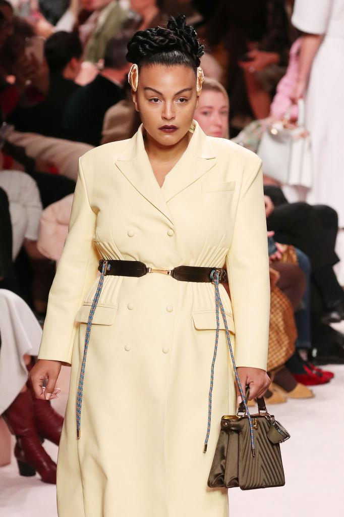 """**Paloma Elsesser** <br><br> Elsesser has been a successful model for years, but her breakout moment came during the autumn/winter '20 runway season, when she walked for Fendi and Alexander McQueen. In a 2018 interview with the U.K.'s *The Sunday Times*, Elsesser announced that she doesn't listen to naysayers who lecture her on dieting, saying: """"It's never their business. My health is not their business. Don't you think I know how to eat clean?"""" <br><br> In a 2016 interview with *[Allure](https://www.allure.com/story/plus-size-model-paloma-elsesser-interview