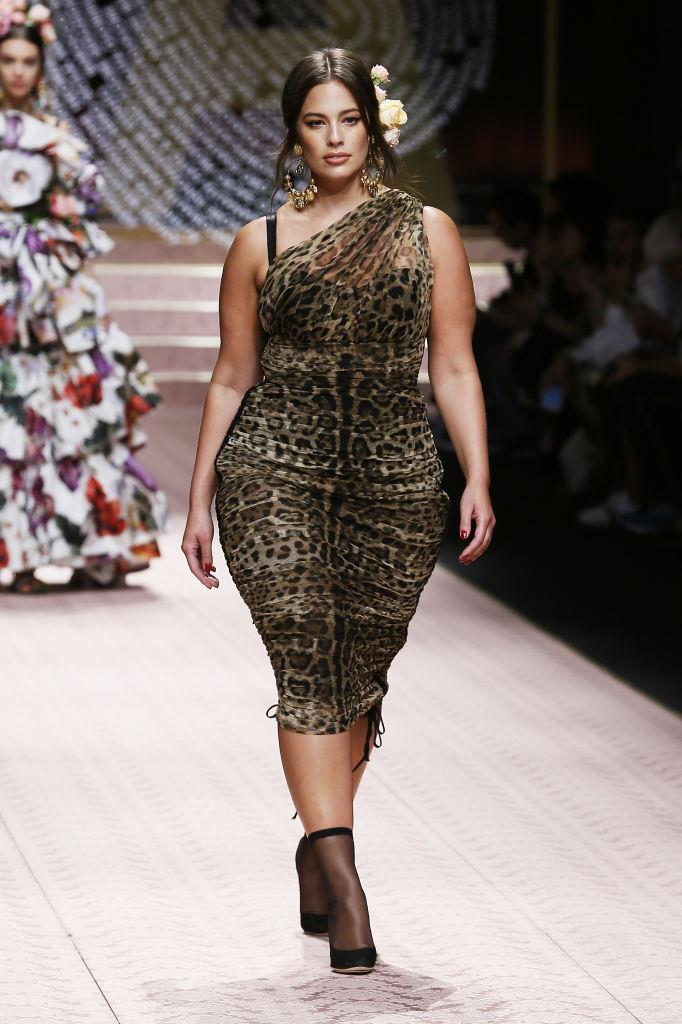 """**Ashley Graham** <br><br> As one of the industry's best-known models, Graham has spoken extremely candidly about size discrimination throughout her career. <br><br> In her 2019 cover story for [*Harper's BAZAAR* Australia](https://www.harpersbazaar.com.au/celebrity/ashley-graham-size-18208