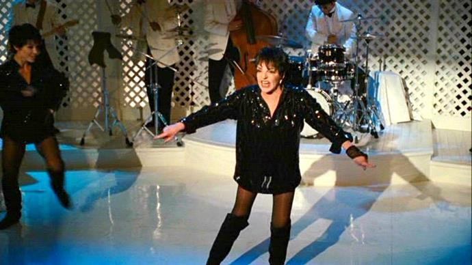 """**Liza Minnelli (*Sex and the City 2*)** <br><br> We can't say we'll ever forget Minnelli's *SATC2* cameo, where the famous actress and singer performed an extremely camp version of Beyoncé's """"Single Ladies"""" at Stanford Blatch and Anthony Marantino's wedding."""