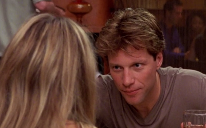 """**Jon Bon Jovi (season two, episode 13)** <br><br> Bon Jovi, the rocker and """"Living On A Prayer"""" singer, cameoed as a man Carrie meets at therapy, and who wants to see her romantically with no interest in a long-term relationship. Naturally, the fling between the two characters lasted only one episode."""