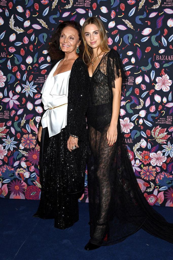 Diane and Talita von Fürstenberg