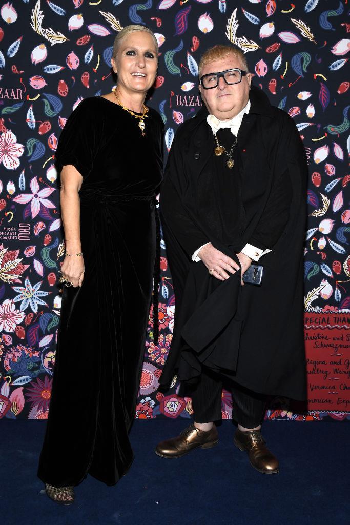 Maria Grazia Chiuri and Alber Elbaz