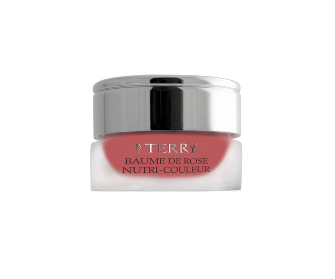 """**Baume de Rose Nutri Couleur in Toffee Cream by By Terry, $82 at [MECCA](https://www.mecca.com.au/by-terry/baume-de-rose-nutri-couleur/V-019784.html?cgpath=makeup-lipbalm target=""""_blank"""")**<br></br> Deeper than a nude, but chicer than a bright, it's the ideal colour compromise."""