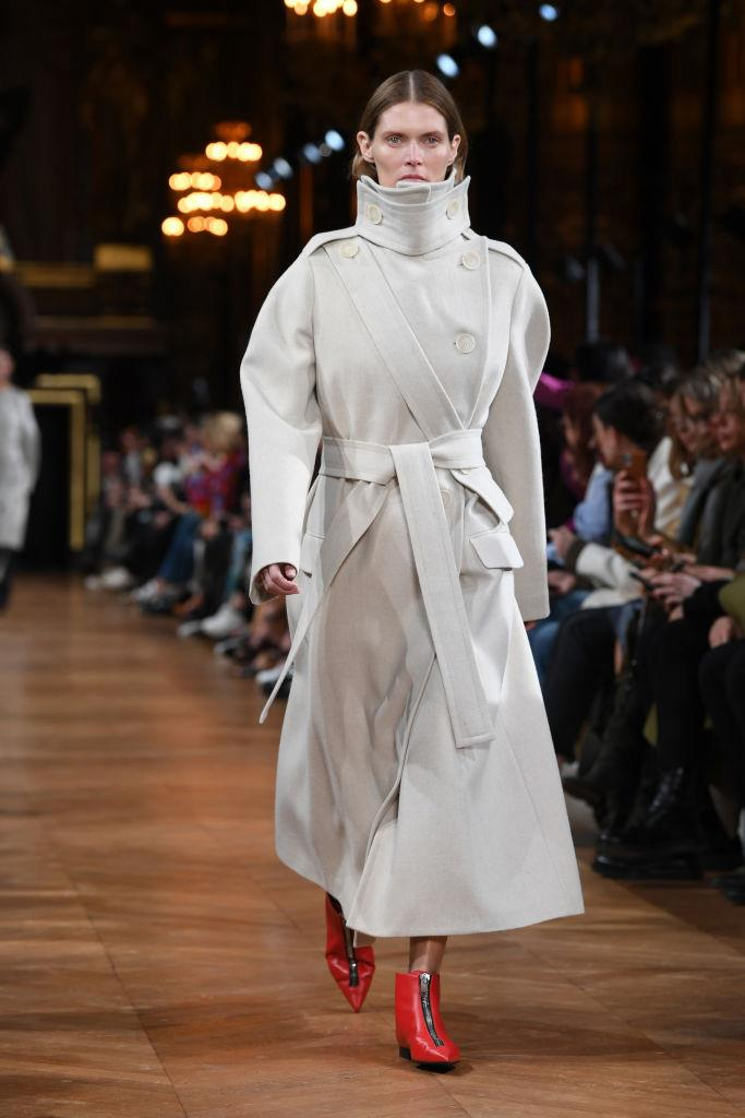 "**Stella McCartney** <br><br> As a lifelong vegetarian and environmental activist, eco-consciousness has always been a part of Stella McCartney's brand. Aside from the models in [animal costumes](https://www.theguardian.com/fashion/2020/mar/02/stella-mccartney-paris-fashion-week-goes-wild-animal-friendly-message|target=""_blank"") that she chose to close the show, the garments presented runway fashion for a new, environmentally-minded world."