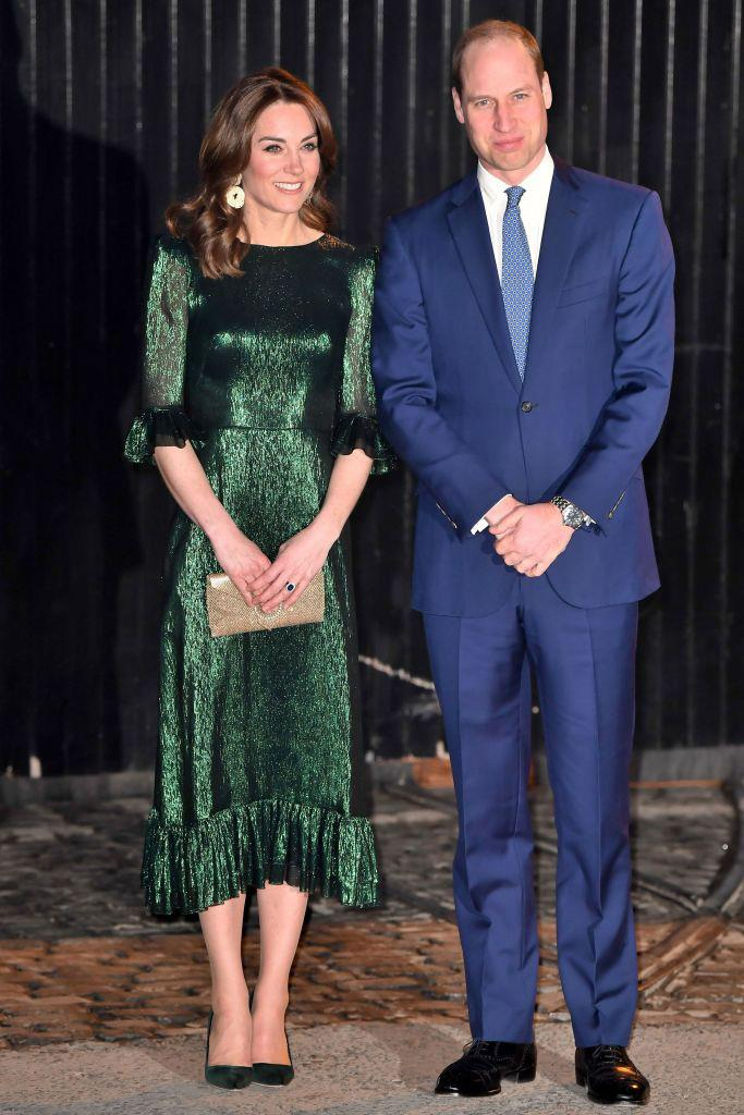 Duchess Kate Middleton and husband Prince William in Ireland on March 3, 2020.