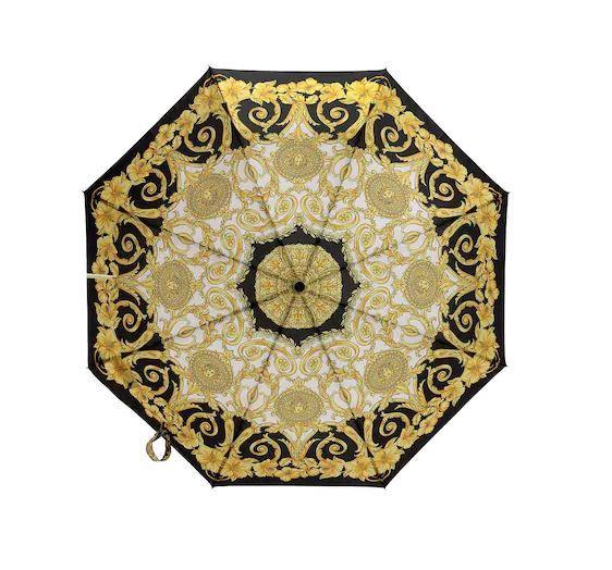 "Printed PVC umbrella by Versace, $330 at [LuisaViaRoma](https://www.luisaviaroma.com/en-au/p/versace/women/70I-A87037|target=""_blank""|rel=""nofollow"")."