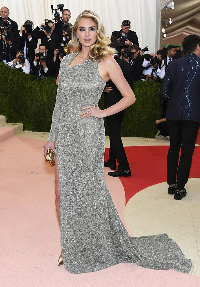 """**Kate Upton** <br><br> American supermodel and *Sports Illustrated* cover model Kate Upton has been a [vocal critic](https://www.harpersbazaar.com.au/fashion/kate-upton-victorias-secret-criticism-19142