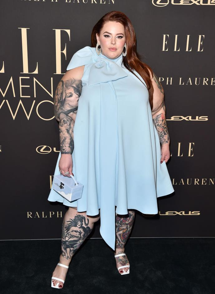 """**Tess Holliday** <br><br> For Tess Holliday, much of the criticism came after she'd already made it as a successful curve model, famously landing her first *Cosmopolitan* U.K. cover in 2018. <br><br> """"I have had people say to me: 'Shut up already with your diversity. You've already made it',"""" Holliday told [*Cosmopolitan* U.K.](https://www.cosmopolitan.com/uk/body/a22849266/tess-holliday-cosmopolitan-uk-cover-interview-october-2018/