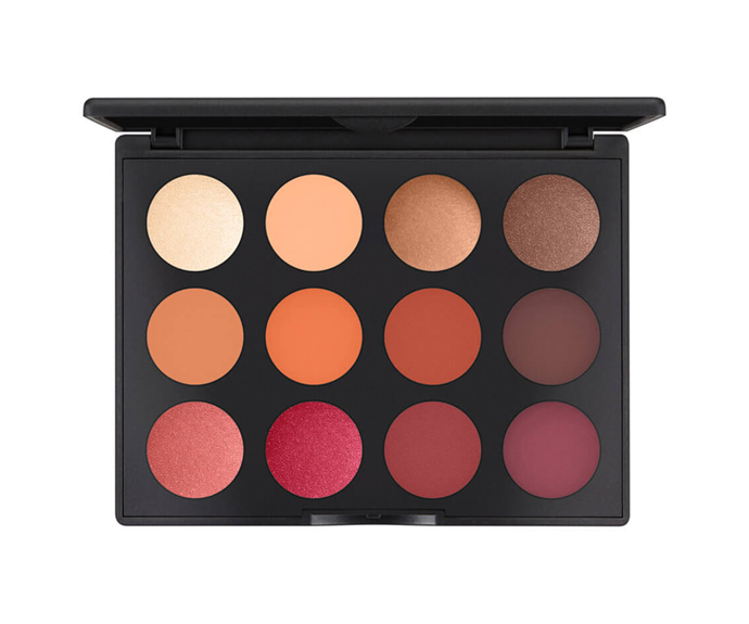 "**Art Library FlameBoyant Palette by M.A.C, $89 at [MECCA](https://www.mecca.com.au/mac-cosmetics/art-library-flameboyant-palette/I-037206.html?cgpath=makeup-eyes-eyepalettessets|target=""_blank"")**<br> These highly blendable flame-inspired hues are bound to ignite your creativity."