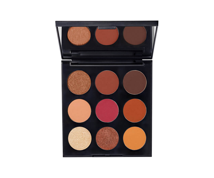 "**9D Painted Desert Artistry Palette by Morphe, $18 at [MECCA](https://www.mecca.com.au/morphe/9d-painted-desert-artistry-palette/I-041526.html?cgpath=makeup-eyes-eyepalettessets|target=""_blank"")**<br> An edit of everyday autumnal nudes designed to flatter deeper complexions."
