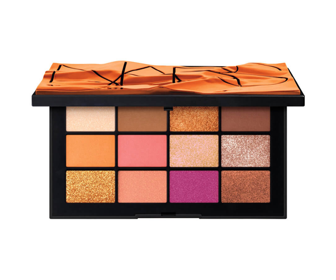 "**Afterglow Eyeshadow Palette by NARS, $94 at [MECCA](https://www.mecca.com.au/nars/afterglow-eyeshadow-palette/I-042405.html?cgpath=makeup-eyes-eyepalettessets|target=""_blank"")**<br> A fall-friendly mix of vividly warm metallics and statement colour pops."