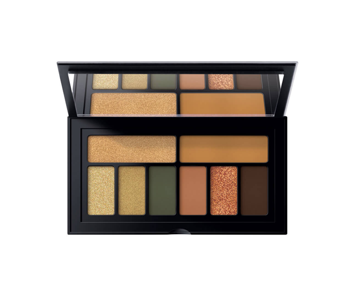 "**Cover Shot: Desert Eye Palette by Smashbox, $46 at [MECCA](https://www.mecca.com.au/smashbox/cover-shot-desert-eye-palette/I-039309.html?cgpath=makeup-eyes-eyepalettessets|target=""_blank"")**<br> A standout burnt bronze shimmer, flanked by muted olives and rich neutrals."