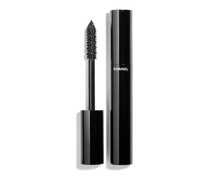 "**Le Volume De Chanel Mascara by Chanel, $56 at [Myer](https://www.myer.com.au/p/mascara-155985850-155985940|target=""_blank"")**<br></br> A length-extending, volume-enhancing blend that won't budge."