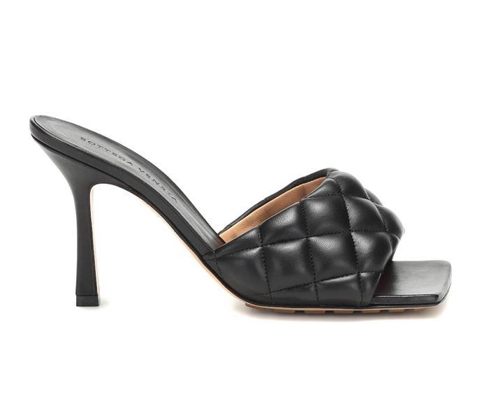 "**BOTTEGA VENETA MULES**<br><br>  Bottega Veneta Quilted Leather Mules, $1,120 at [MyTheresa](https://www.mytheresa.com/en-au/bottega-veneta-quilted-leather-mules-1317274.html|target=""_blank""|rel=""nofollow"")."