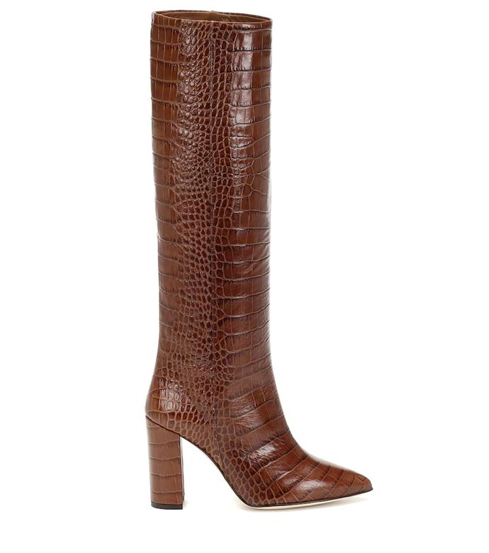 "**Croc-effect leather knee-high boots by Paris Texas, $785 at [MyTheresa](https://www.mytheresa.com/en-au/paris-texas-croc-effect-leather-boots-1321988.html|target=""_blank""