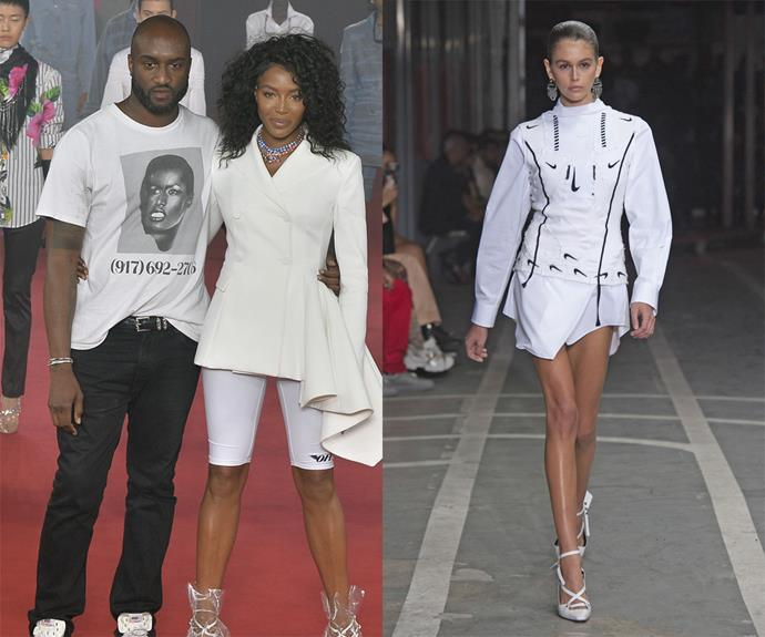 **Virgil Abloh (Off-White, Louis Vuitton Menswear)** <br><br> Few brands have a stronger following than Virgil Abloh's Off-White, which created some of the most consumed accessories of the 2010s and saw the designer plant his foot firmly in the logomania battle. <br><br> It was only natural that Abloh was appointed as the menswear creative director of Louis Vuitton in 2018, becoming the first African-American to lead a major French fashion house. Abloh's runways are inclusive, extravagant, and have led to more trend pieces than we can think of (chunky sneakers and emergency-tape belts mark the start of a long list).