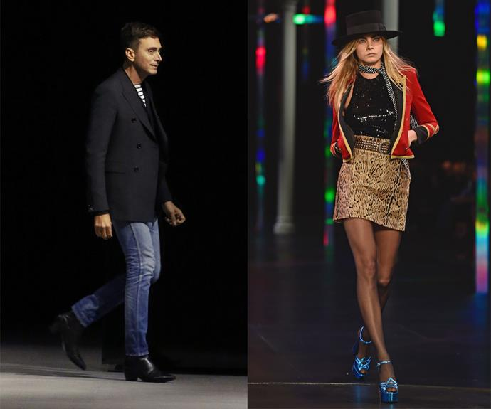 """**Hedi Slimane (Saint Laurent Paris, Celine)** <br><br> It's fair to say Hedi Slimane's work is often followed by controversy—not limited to his well-publicised [name-changing](https://www.harpersbazaar.com.au/fashion/hedi-slimane-drops-the-accent-from-celine-17268