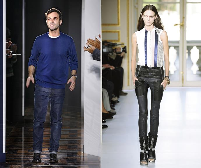 **Nicolas Ghesquière (Balenciaga, Louis Vuitton)** <br><br> Nicolas Ghesquière is an avid science fiction fan, so it's little wonder his designs at Balenciaga (pictured) represented the sleek, intricate and wearable future of fashion. <br><br> Ghesquière now enjoys a successful career as the womenswear creative director of Louis Vuitton, but his tenure at Balenciaga (between 1997 and 2012) is one of the most well-recognised in fashion history. Eight years after his departure from the house, and wardrobes are still as influenced as ever by his cutting-edge aesthetic.
