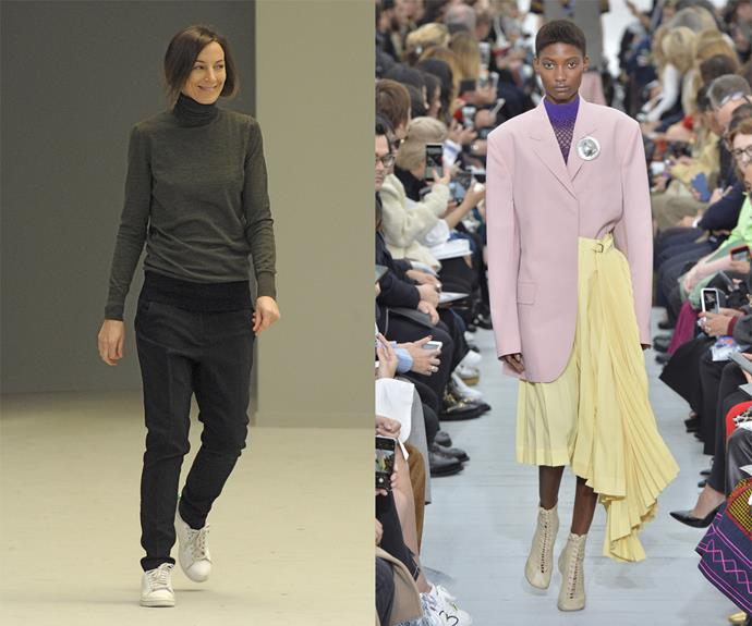 """**Phoebe Philo (Céline)** <br><br> Like Tom Ford at Gucci, [Phoebe Philo](https://www.harpersbazaar.com.au/fashion/phoebe-philo-returning-to-fashion-19925