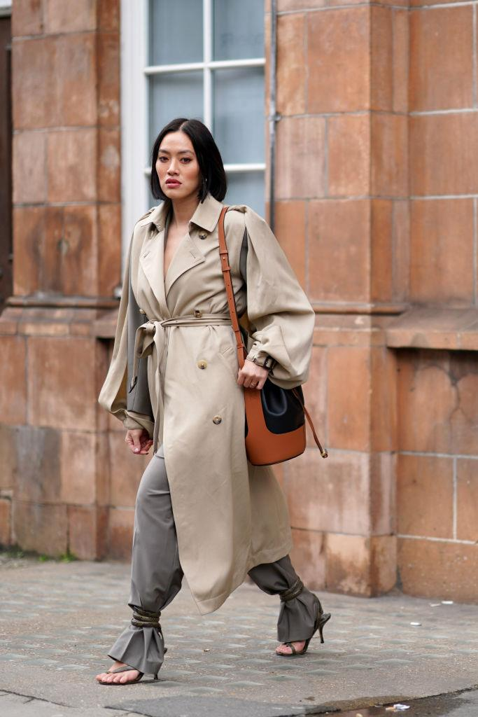 On MyTheresa fashion buying director Tiffany Hsu at London Fashion Week autumn/winter '20/'21.