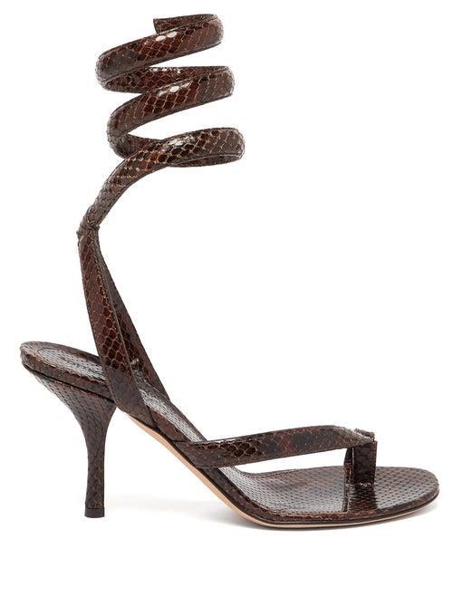 "'BV Spiral Sandal' by Bottega Veneta, $1,700 at [Bottega Veneta](https://www.bottegaveneta.com/au/sandals_cod11809822wc.html|target=""_blank""|rel=""nofollow"")."
