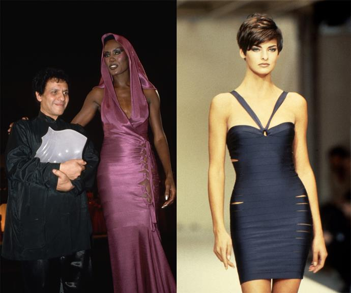 **Azzedine Alaïa (his eponymous brand)** <br><br> Referred to as the 'King of Cling', Azzedine Alaïa was one of the fashion industry's most beloved designers, not least for his dynamic, body-con dresses and sheer garments that inspired countless designers to follow. <br><br> Though he passed in 2018, Alaïa was known for supporting the then-new guard of 'supermodels', and for his artisanal approach to design—not to mention, his instrumentally dynamic clothes that changed the way women dressed. Basically, every designer who makes tight-fitting, body-con dresses has Alaïa to thank.