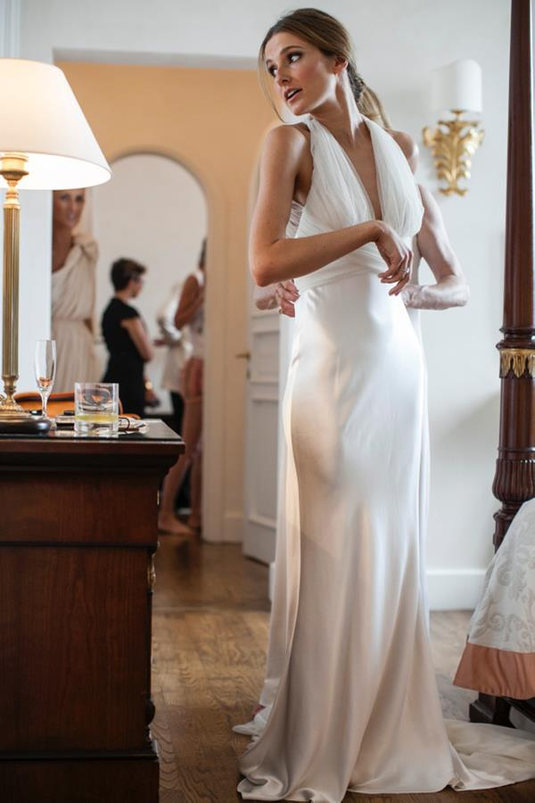 "**Kate Waterhouse**<br><br>  Kate Waterhouse wearing a silk and tulle Vera Wang dress at her 2012 Sicily wedding to Luke Ricketson.<br><br>  *Image via [katewaterhouse.com](https://katewaterhouse.com/wedding-day-learned-bride/|target=""_blank""