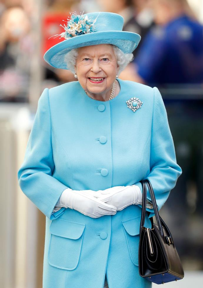 "**Queen Elizabeth's handbags**<br><br>  Although for many a handbag is largely a device for toting things around, and while Queen Elizabeth actually uses the humble accessory for a much more strategic purpose. According to royal historians, [the Queen uses her handbag to send secret signals to her staff](https://www.harpersbazaar.com.au/culture/inside-queen-elizabeths-purse-6275|target=""_blank"").<br><br>  Per [*Reader's Digest*](https://www.rd.com/culture/queen-elizabeth-secret-messages/