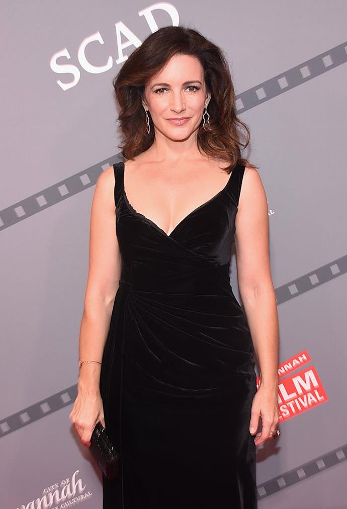 """**Kristin Davis** <br><br> Davis's *SATC* character, Charlotte York, literally converted to Judaism for the man of her dreams, but the actress is much less fussed about the idea of marriage in real life. <br><br> In a 2008 TV interview, the mother-of-two said: """"Little girls who say, 'I want to get married'—I was never one of those girls. It's not that I wouldn't do it, but I don't see that I must do it or be unhappy. I'm perfectly happy [with] my single self right now."""""""