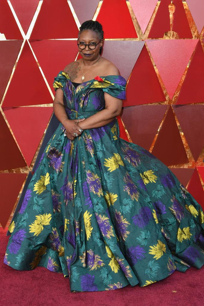 """**Whoopi Goldberg** <br><br> Whoopi Goldberg is a decorated actress and talk show host (as well as being one of only a few stars who has won a Grammy, an Oscar, an Emmy and a Tony Award), and quite frankly, couldn't care less about tying the knot. <br><br> In a 2016 interview with *The New York Times*, Goldberg gave a blunt statement on her refusal to marry, saying: """"I don't want somebody in my house."""" She later added: """"I'm the round peg, and marriage is the square hole. You can't have a square hole, can you?"""""""