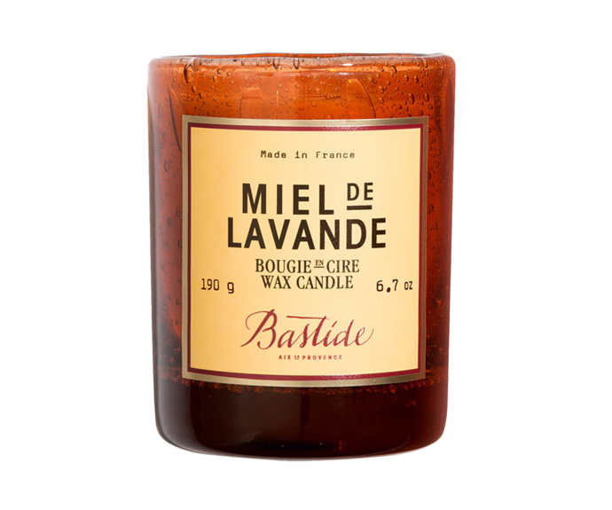 """**Miel de Lavande Candle by Bastide, $98 at [MECCA](https://www.mecca.com.au/bastide/miel-de-lavande-candle/I-030116.html#q=bastide%2Bcandle&start=1