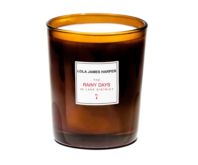 """**Rainy Days Candle by Lola James Harper, $79 at [Libertine Parfumerie](https://www.libertineparfumerie.com.au/product/rainy-days-candle/