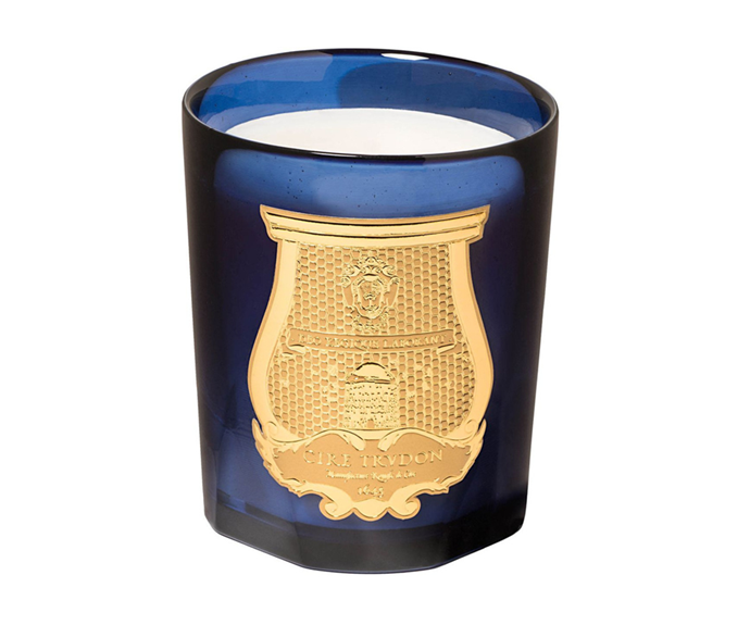 "**Reggio Candle by Cire Trudon, $135 at [Myer](https://www.myer.com.au/p/reggio-candle-270gm-674950150|target=""_blank"")**<br></br> Able to create an aromatic atmosphere that is both zesty and zen, it's a sweet citrus scent bound to serve as a source of solace."