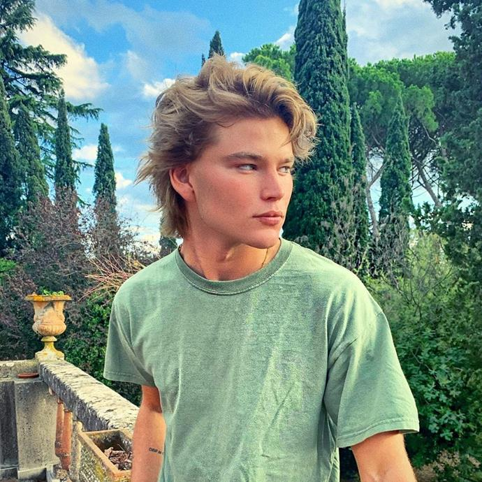 """**5. Jordan Barrett** <br><br> Barrett—better known by his Instagram moniker '*iblamejordan*'—is perhaps the first Australian male supermodel. With a million followers, Barrett is an international sensation who spends his time in-between campaigns shoots hanging out with BFFs Bella Hadid, Emily Ratajkowski, Kate Moss and Carine Roitfeld. <br><br> Follow: [@iblamejordan](https://www.instagram.com/iblamejordan/?hl=en