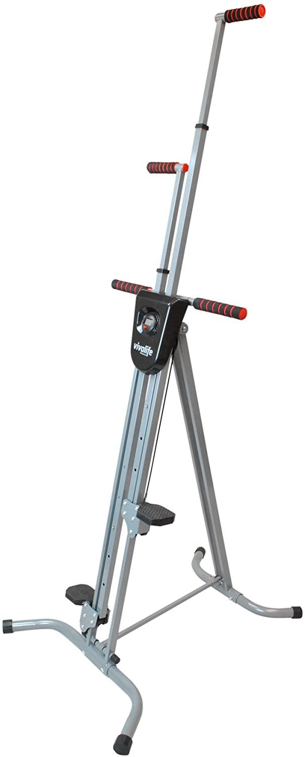 """**Vertical Climber Exercise Machine by Viva Life, $129.95 at [Amazon](https://fave.co/3dDHw3p