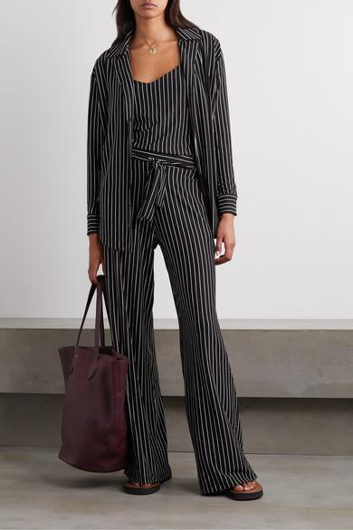"'Amber' set of stretch jersey shirt, $353, stretch jersey camisole, $170, and stretch-jersey pants, $318, all at [NET-A-PORTER](https://www.net-a-porter.com/en-au/shop/designer/leset/clothing|target=""_blank""
