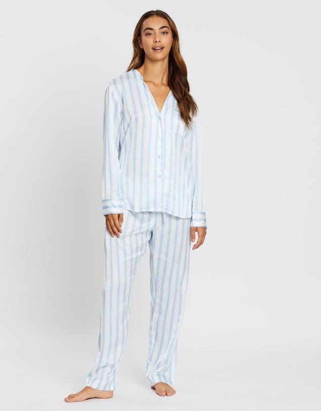 "'Portofino' Long Pyjama Set by Jasmine And Will, $149.95 at [THE ICONIC](https://fave.co/3bsV4wO|target=""_blank""