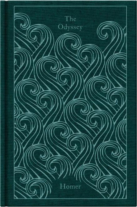 """***The Odyssey*** **by Homer**<br><br>  The epic tale of Odysseus and his ten-year journey home after the Trojan War forms one of the earliest and greatest works of Western literature. Confronted by natural and supernatural threats—shipwrecks, battles, monsters and the implacable enmity of the sea-god Poseidon—Odysseus must use his wit and native cunning if he is to reach his homeland safely and overcome the obstacles that, even there, await him.<br><br>  *Buy it [here](https://fave.co/2JpVYhz