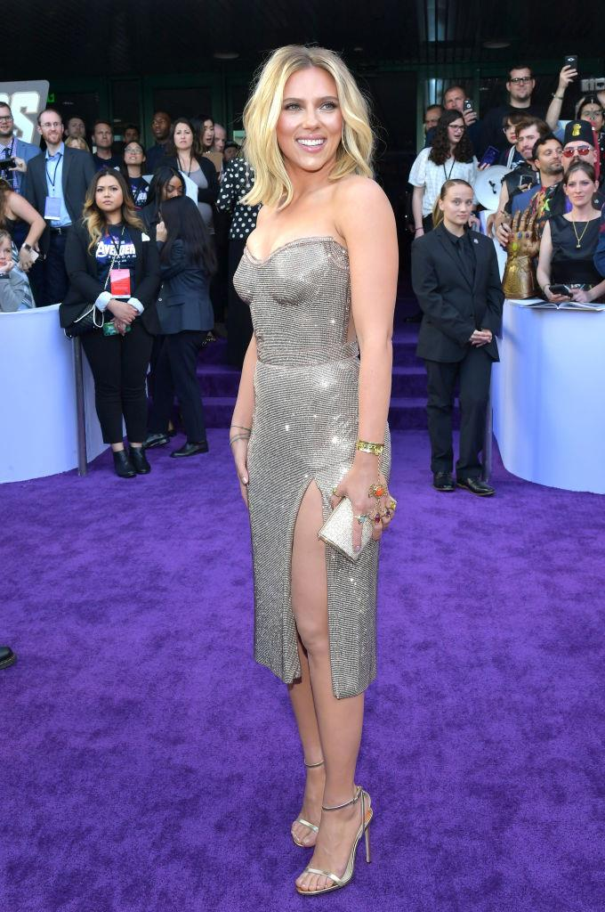 """**Scarlett Johansson** <br><br> Johansson may be the [highest-paid actress in the world](https://www.harpersbazaar.com.au/celebrity/highest-paid-actress-2019-19164
