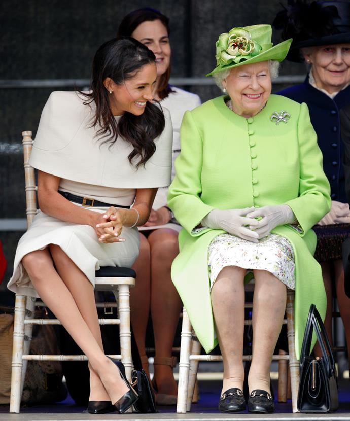 "**June 2018: Meghan Markle completes her first solo royal engagement with Queen Elizabeth**<br><br>  June 14, 2018 was a significant moment for Meghan's entry into the royal family, with the Duchess undertaking [her first social engagement alongside Queen Elizabeth](https://www.harpersbazaar.com.au/celebrity/queen-elizabeth-meghan-markle-grenfell-tower-16728|target=""_blank"") at the opening of the Mersey Gateway Bridge."