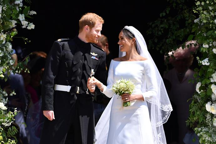 **May 2018: Meghan Markle and Prince Harry marry in St. George's Chapel**<br><br>  In what became one of the most momentous weddings in royal history, Meghan and Harry married in May 2018 in St. George's Chapel.