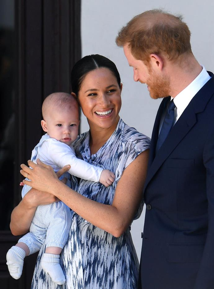 **September 2019: The Sussexes go to South Africa, marking their first royal tour as a family**<br><br>  The Sussexes made their first royal tour as a family by travelling to South Africa in September 2019, where they continued their support of a number of philanthropic organisations focusing on community, grassroots leadership, women's and girls' rights, mental health, HIV/AIDS and the environment.