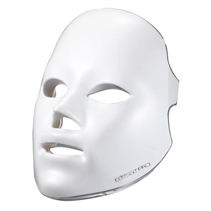 """**Déesse Pro Mask Next Generation, approx $3,120 at [Shani Darden Skin Care](https://www.shanidarden.com/products/deesse-led-mask target=""""_blank"""" rel=""""nofollow"""")**"""