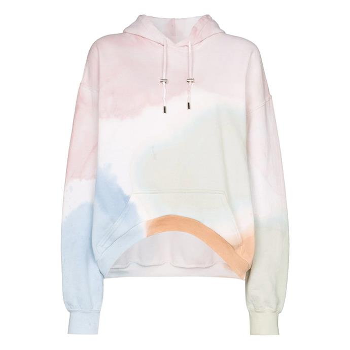 "**Watercolour hoodie by Collina Strada, $543 at [Farfetch](https://fave.co/2xSU3Q3|target=""_blank""