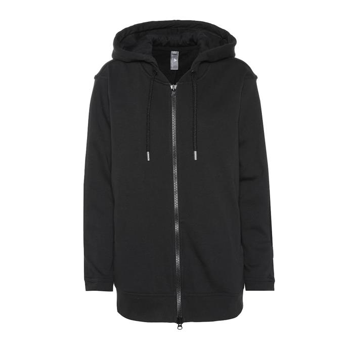 "**Hoodie by Adidas by Stella McCartney, $129 at [Mytheresa](https://fave.co/2wkel4F|target=""_blank""