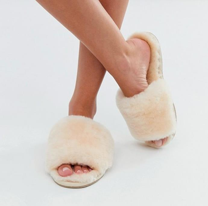 """**Myna 2.0 Slipper, $59.95, at [Emu Australia](https://www.emuaustralia.com.au/all-footwear/myna-2.0/W12023.html