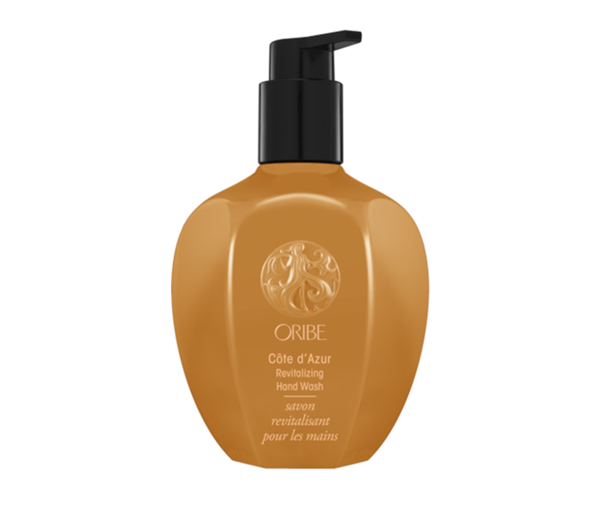 "**Cote d'Azur Revitalising Hand Wash by Oribe, $54 at [Adore Beauty](https://www.adorebeauty.com.au/oribe/oribe-beauty-cote-d-azur-revitalising-hand-wash.html|target=""_blank"")**<br></br> This skin-softening concoction is scented with sun-drenched citrus."